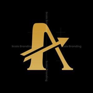 Letter A Archer Logo