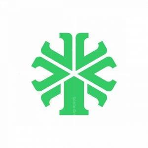 Abstract Windmill Logo