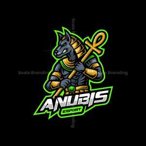 Anubis Esport Mascot Logo