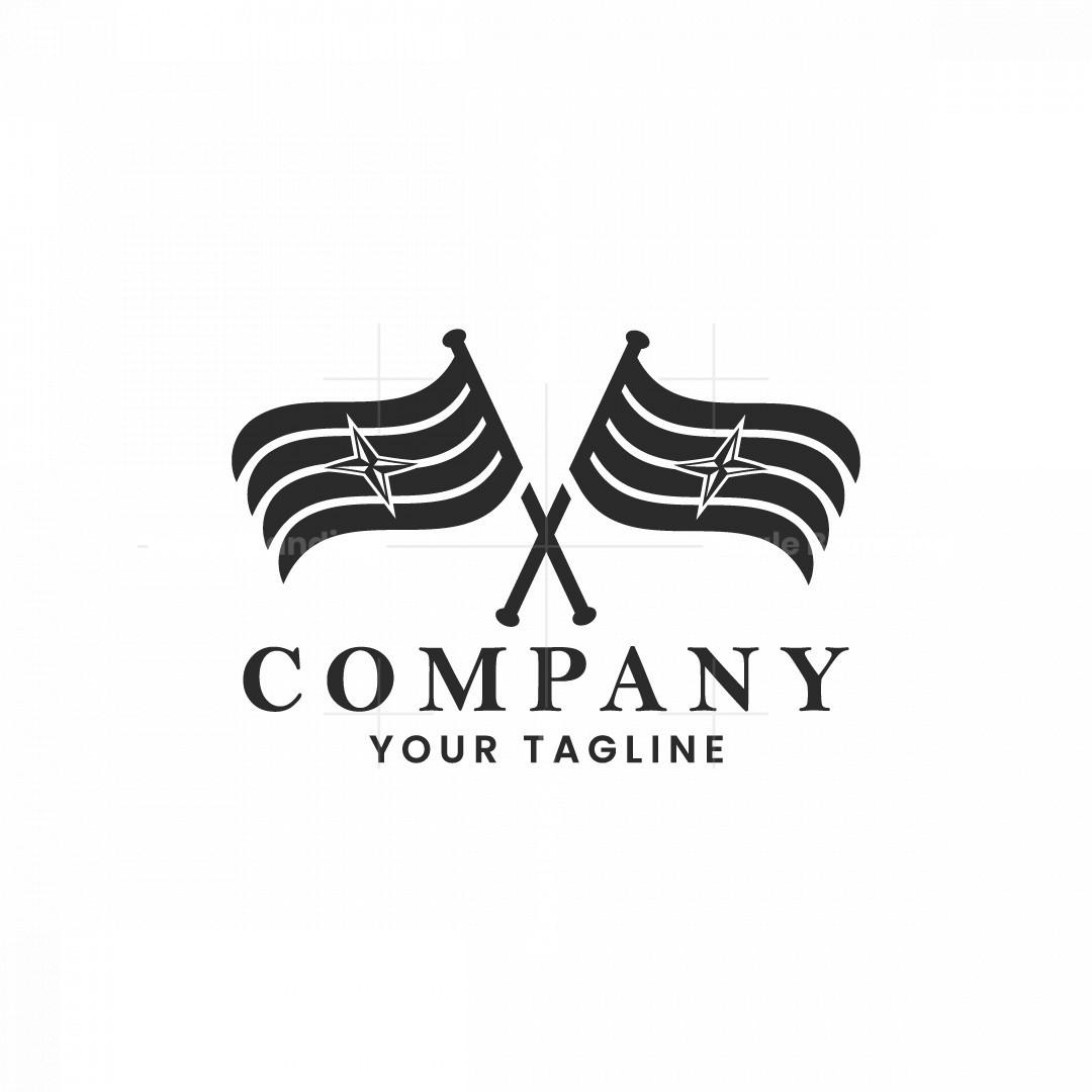 Flag Compas Logo