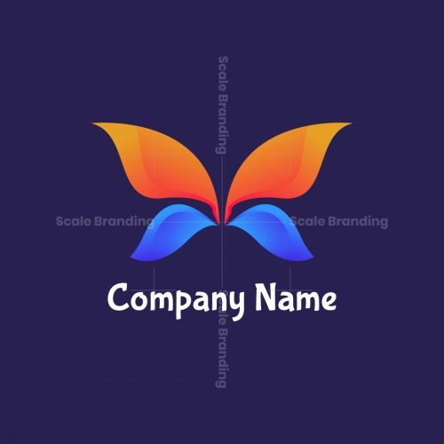 Butterfly Geese Logo