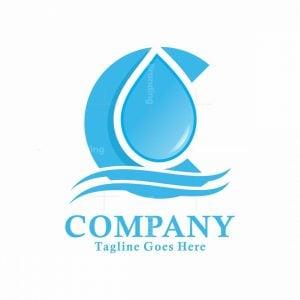 C Waterdrop Logo