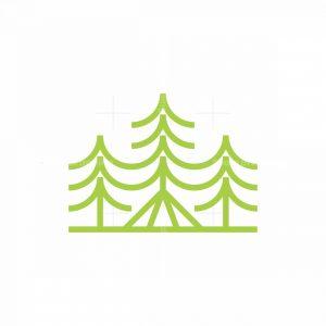 Camping Tree Logo