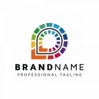 Abstract Colorful Logo
