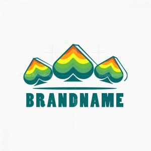 Colorful Spade Logo