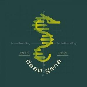 Deep Gene Logo