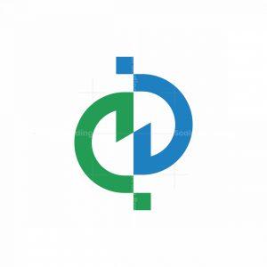 Development Infinity D Letter Logo