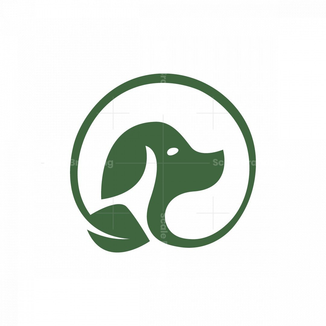 Dog Leaf Logo