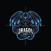 Dragon Team Mascot Logo Logo