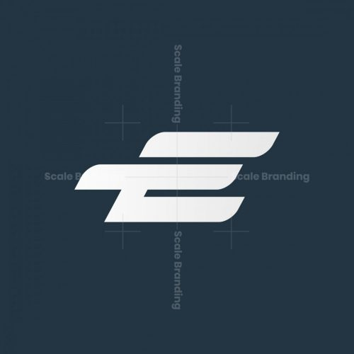 E Letter Bird Logo