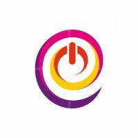 E Letter Power Logo