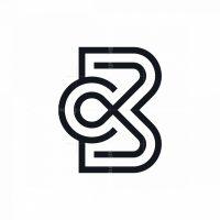 Elegant Letter Bc Or Cb Logo