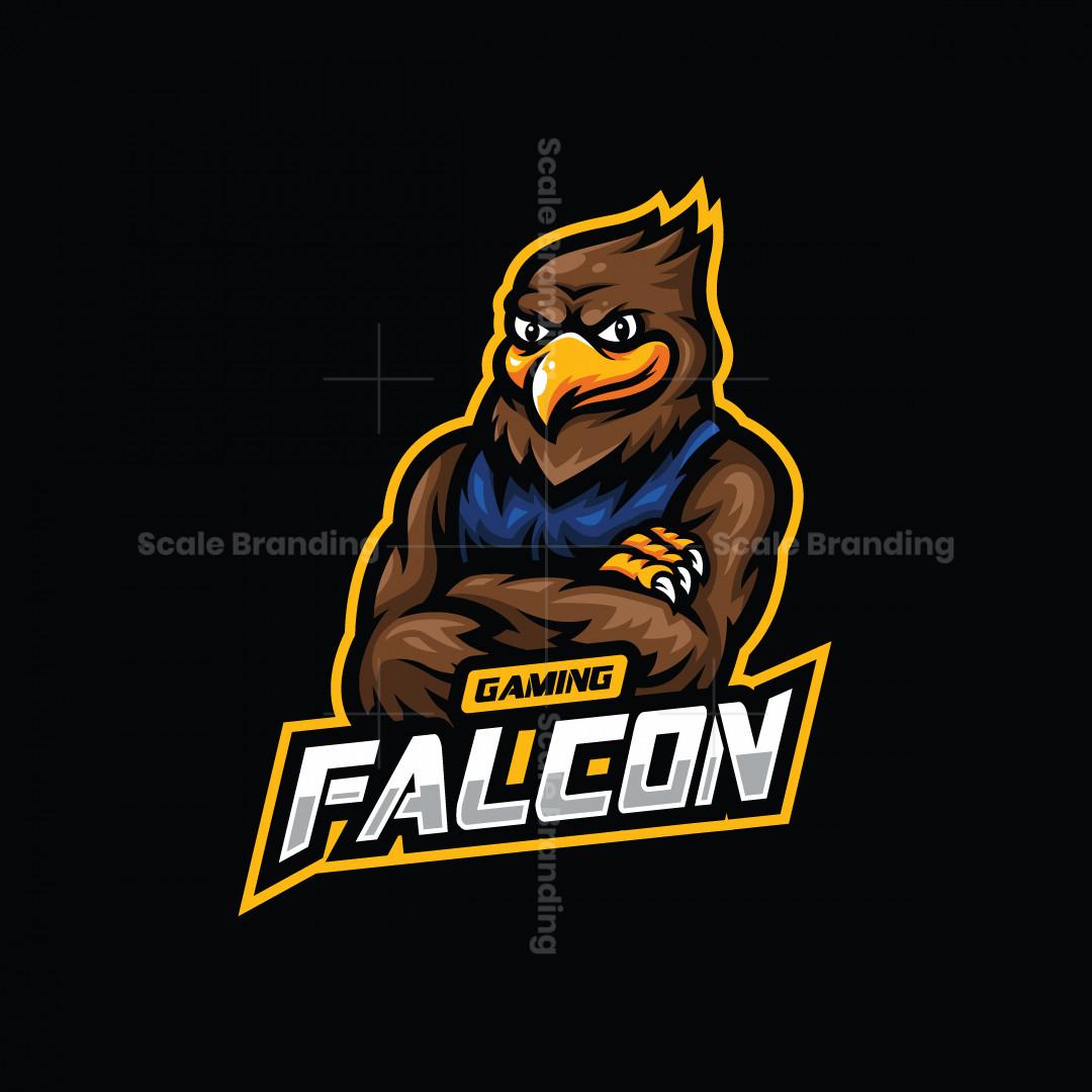 Falcon Gaming Mascot Logo
