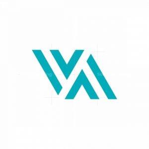 Fashion Letter Va Logo