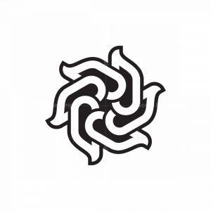 Flower Letter G Logo
