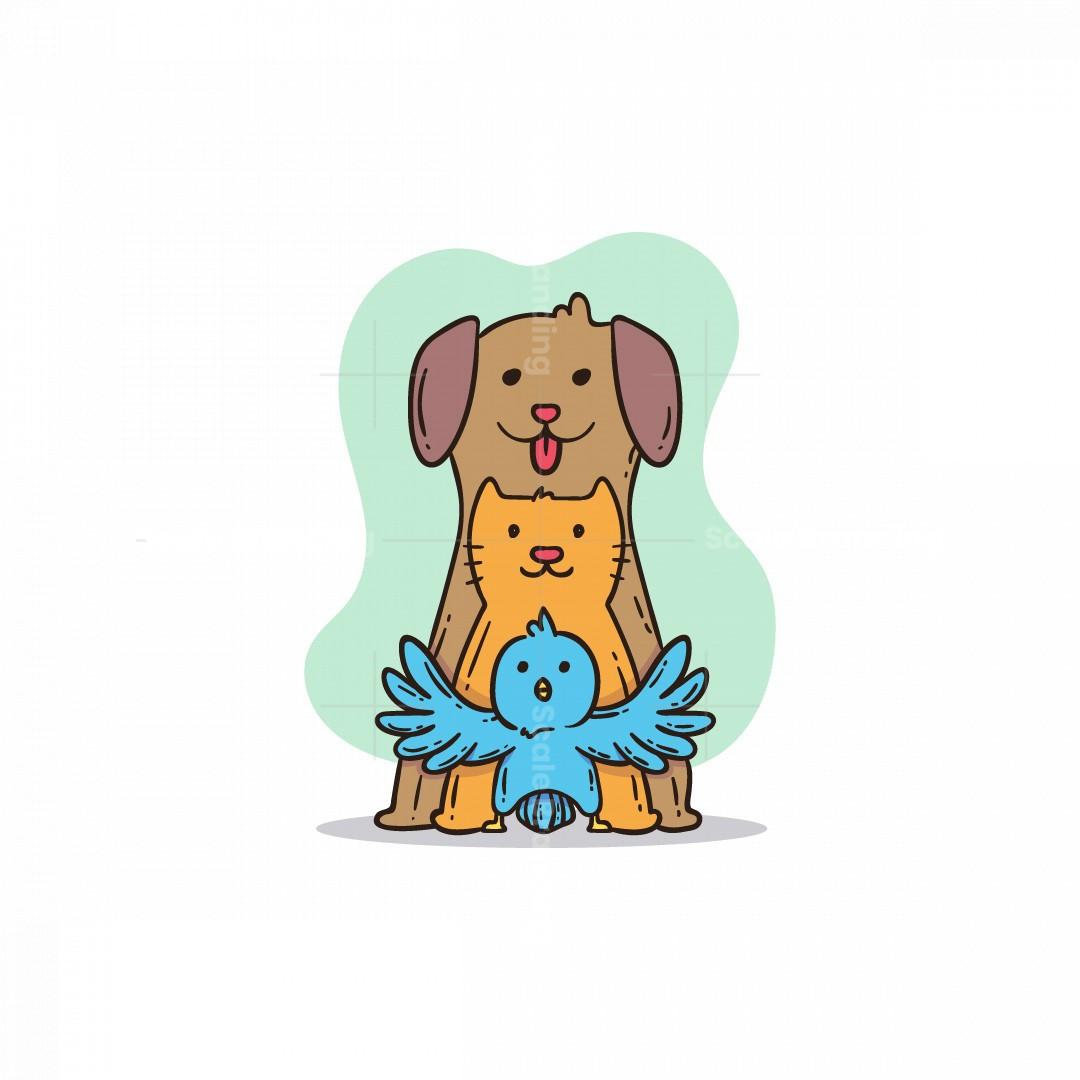 Friendly Pet Shop Logo