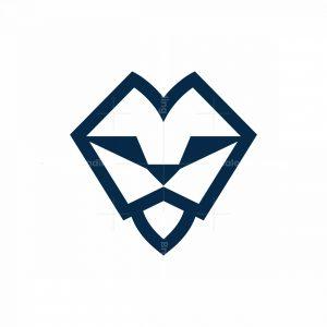 Geometrical Lion Logo