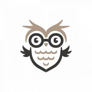 Glasses Owl Logo