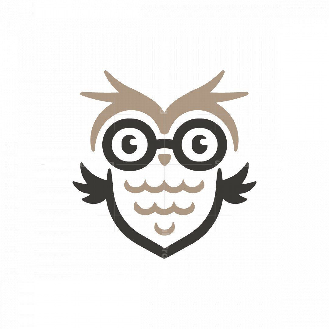 Glasses Owl Logo