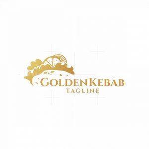 Golden Kebab Logo
