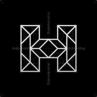 H Letter Architecture Logo