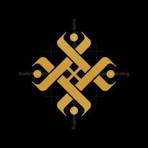 Luxury Letter Hh Logo
