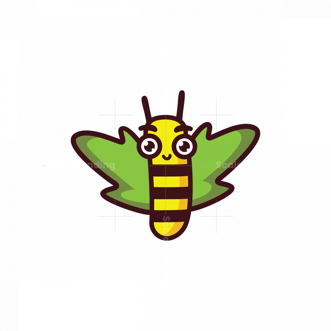 Happy Bee Logo