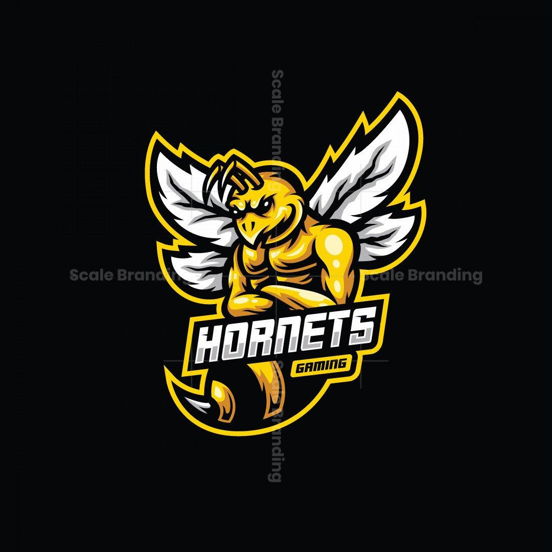Hornets Gaming Mascot Logo
