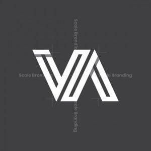 Infinity Monogram Va Or Vna Logo