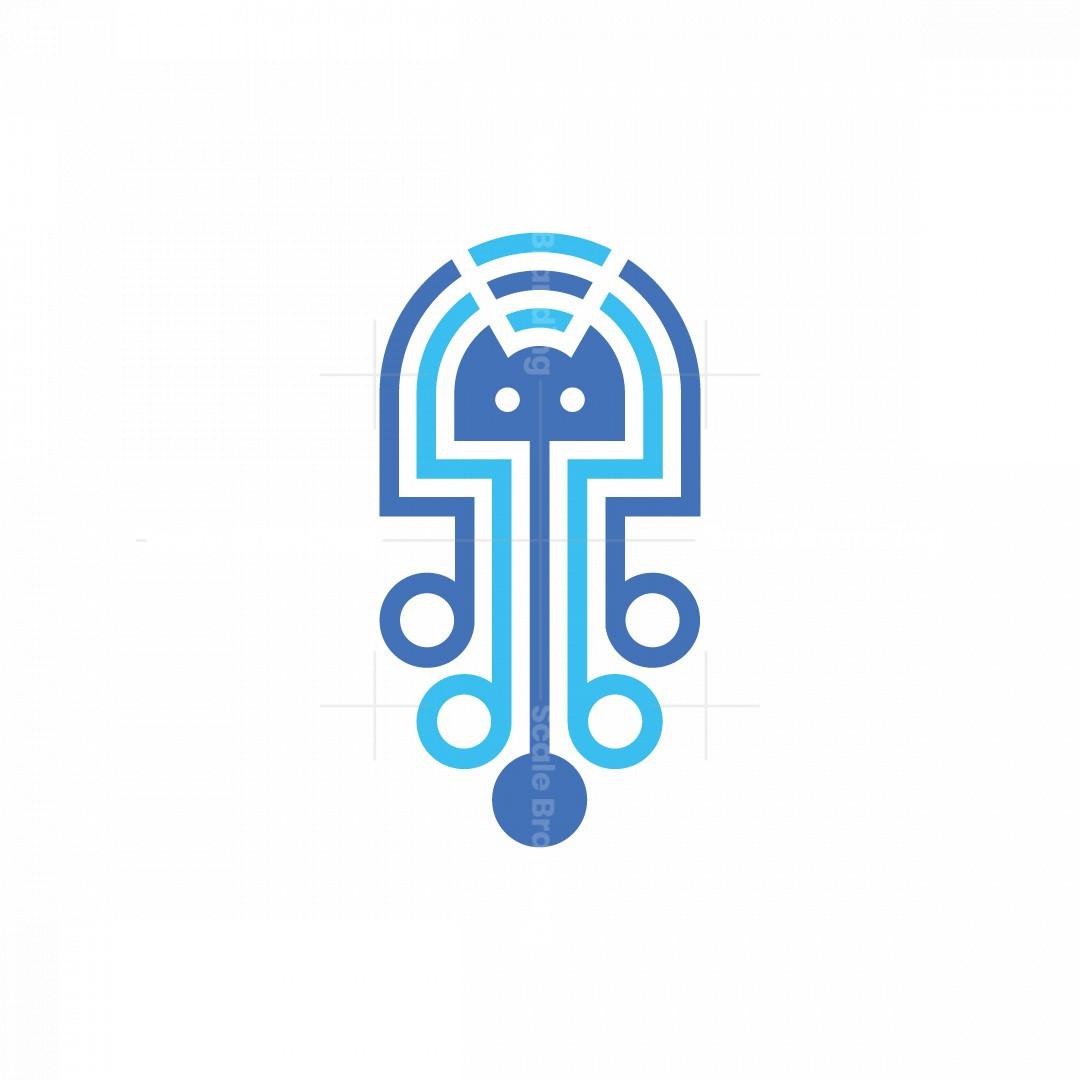 Jellyfish And Network Logo
