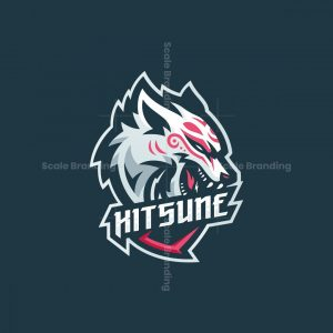 Kitsune Mascot Logo