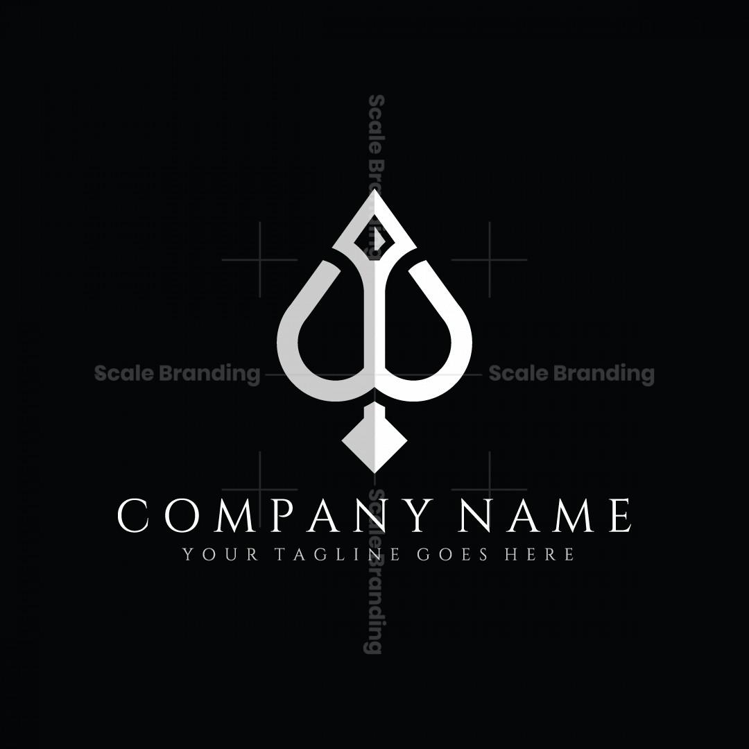 Ace Bow Or Spear Logo
