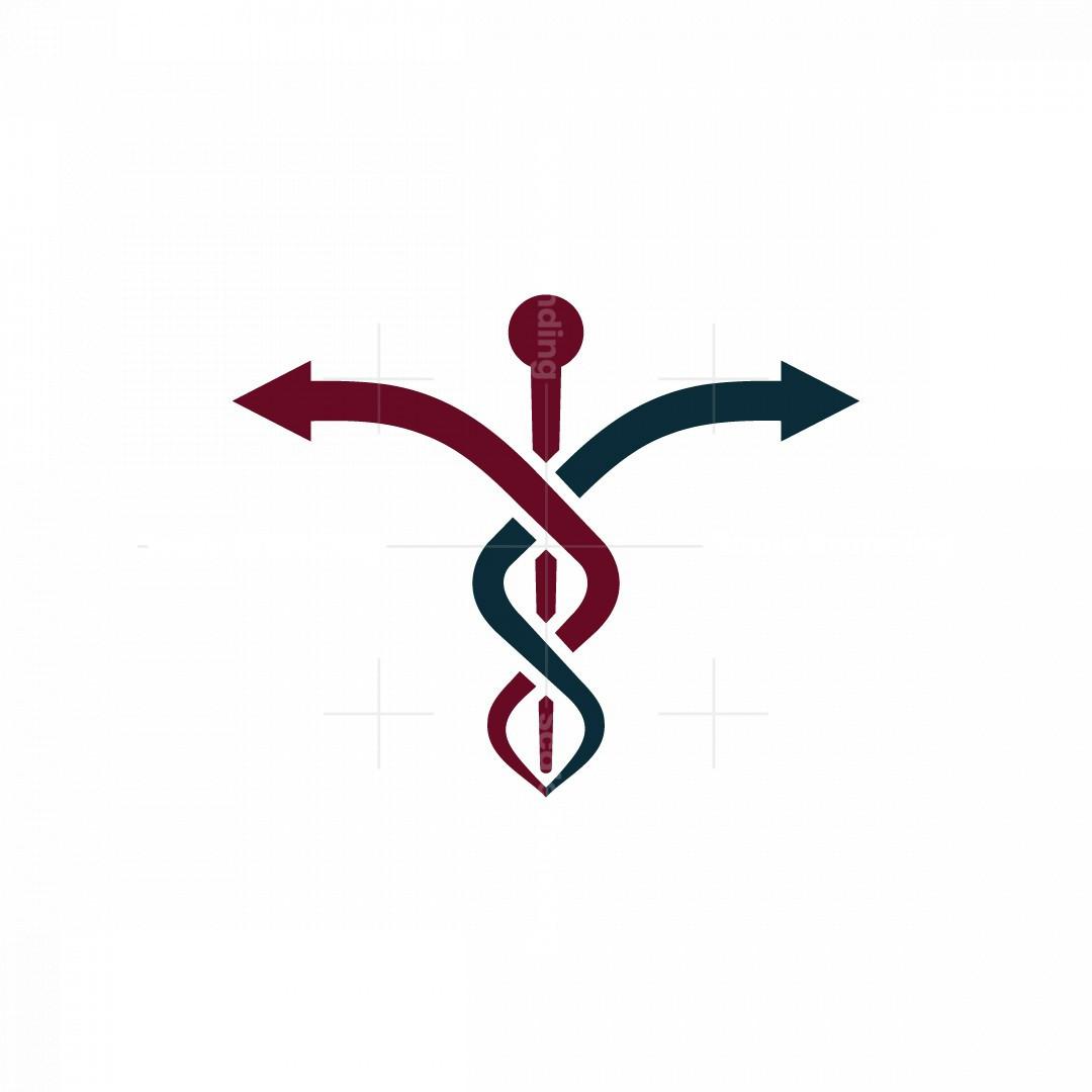 Caduceus Arrow Logo