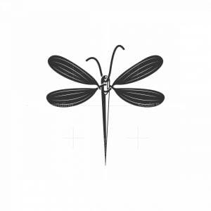 Dragonfly Sewing Needle Logo