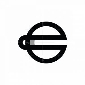 Unique E Euro Design Logo
