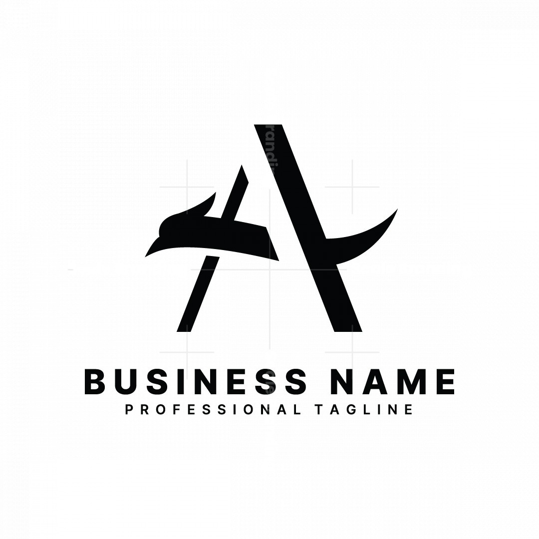 Letter A Falcon Logo