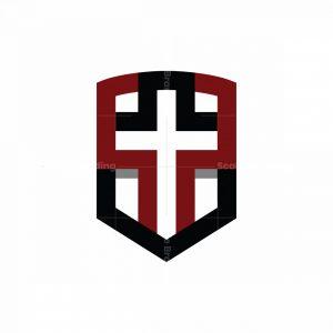 Protection Cross Logo