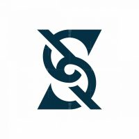 Letter S Knot Logo