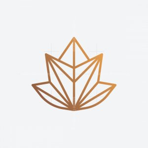 Leaf Geometric Logo