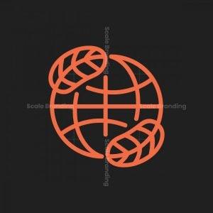 Leaf Globe Logo