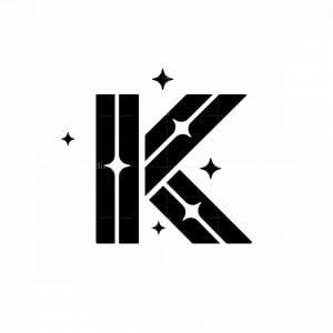 Letter K Starlight Logo