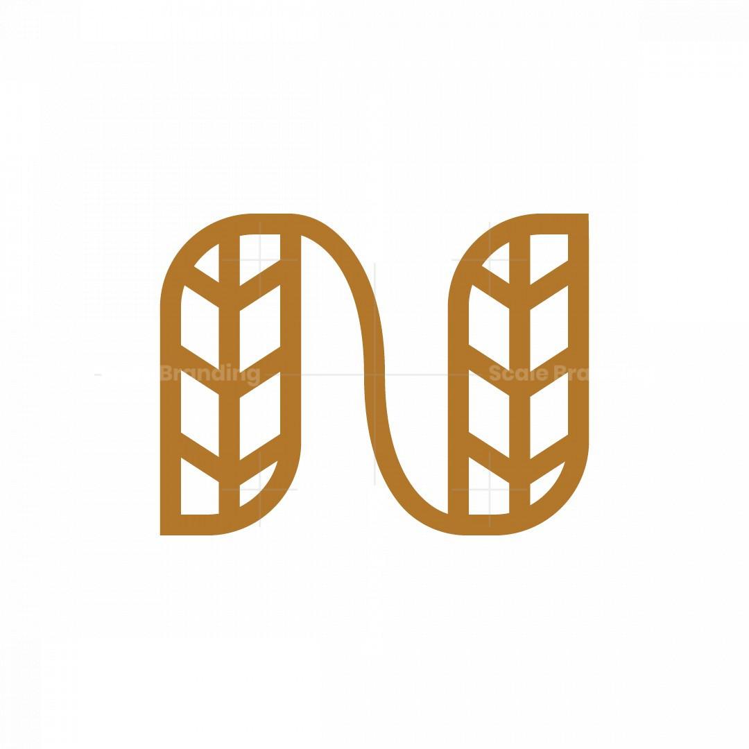 Letter N Minimalist Logo