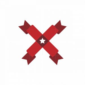 Letter X Flag Logo