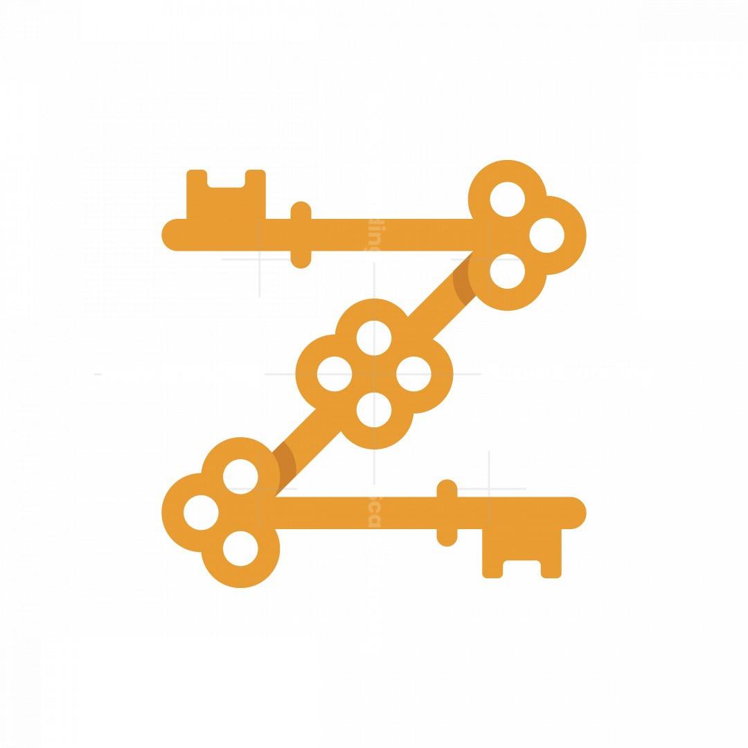 Letter Z Key Logo