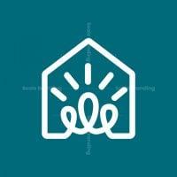 Lightbulb House Logo