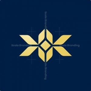 Luxury Kk Monogram Logo