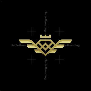 Luxury Kingdom Diamond Logo