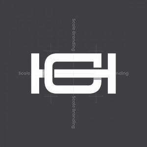 Monogram Hg Or Gh Logo