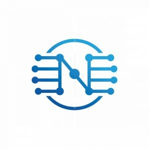 N Letter Tech Logo