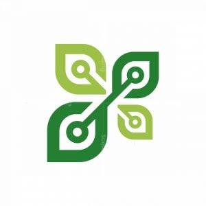 Nature Leaves Tech Logo